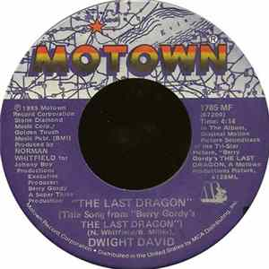 "Dwight David - The Last Dragon (Title Song From ""Berry Gordy's The Last Dragon"") Album"