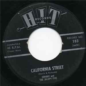 Johnny And The Jalopy Five - California Street / Let's Lock The Door Album