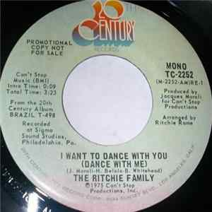 The Ritchie Family - I Want To Dance With You (Dance With Me) Album