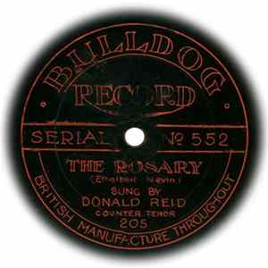 Donald Reid - The Rosary / The Sweetest Flower That Grows Album