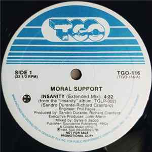 Moral Support - Insanity Album