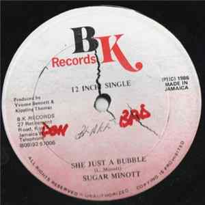 Sugar Minott - She Just A Bubble Album