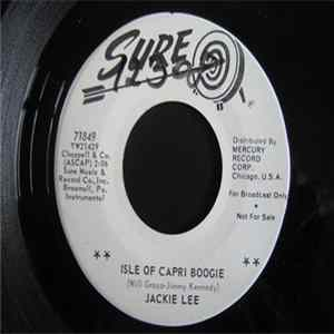 Jackie Lee - Isle Of Capri Boogie Album