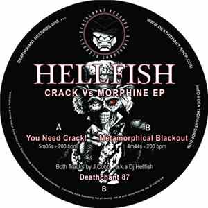 Hellfish - Crack Vs Morphine EP Album