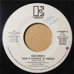 Side Effect - Take A Chance 'n' Dance Album