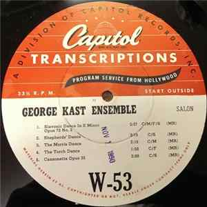 George Kast Ensemble - George Kast Ensemble Album