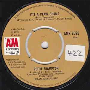 Peter Frampton - It's A Plain Shame Album