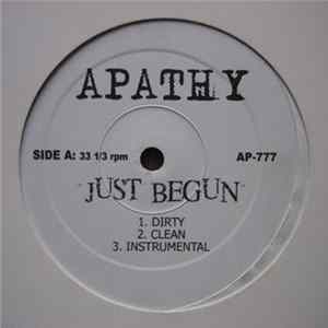 Apathy - Just Begun / Chrome Depot Freestyle Album