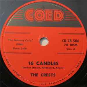 The Crests - 16 Candles / Beside You Album