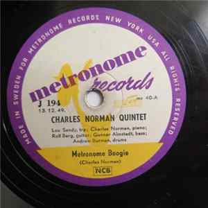 Charles Norman Quintet - Metronome Boogie / Tomteboogie Album
