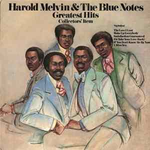 Harold Melvin & The Blue Notes - Greatest Hits - Collectors' Item Album