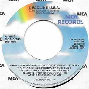 Shalamar / Giorgio Moroder - Deadline U.S.A. / Knock Me Off My Feet Album