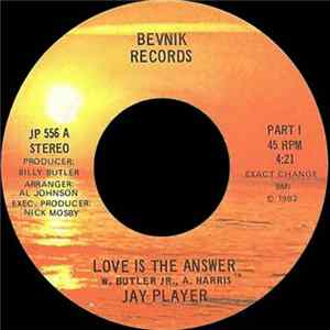 Jay Player - Love Is The Answer Album